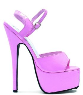 Ellie Shoes High Heel Pink Platform 6 5 Stiletto Heel Sandals 652