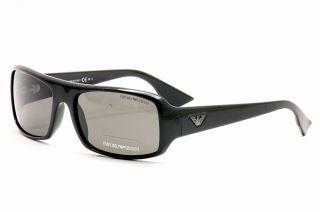Emporio Armani Sunglasses 9665 s 9665s D28Y1 Shiny Black Shades