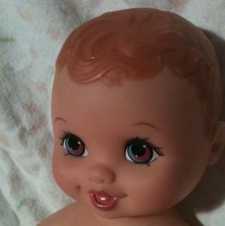 Vintage Lauer Water Baby Babies Sweet Teal Purple Eyes Doll 1998 10