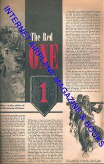 YANK WW2 US ARMY MAGAZINE MAY 25, 1945 THE BIG RED ONE / GENE TIERNEY