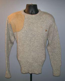 Polo Ralph Lauren Shooting Sweater Elbow Pads Wool 44