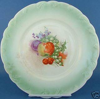 Antique East Palestine Pottery EPP DeSoto Plate Fruit