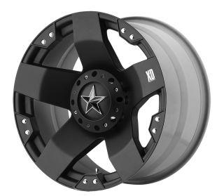 KMC XD Series XD775 Rockstar 22x12 Matte Black