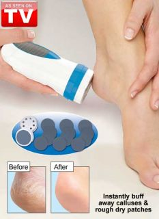 Ped Egg Pedi Spin Original As Seen on TV Gently Removes Calluses & Dry