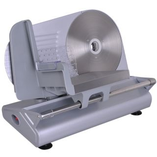 150W Electric Meat Slicer 8 5 Smooth Blade Deli Food Cheese Cutter