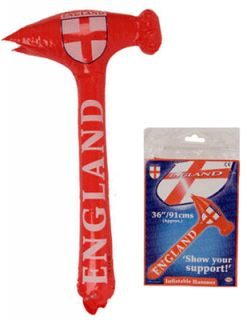 England George Cross 36 Inflatable Hammer Rugby World Cup European