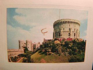 Nixon White House Christmas Card from Windsor Castle