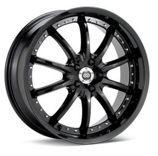 Enkei Wheel LF 10 Aluminum Black 18x7.50 5x4.5 Bolt Circle +42mm