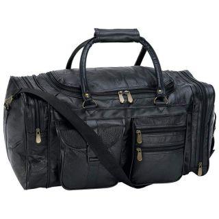 Embassy 21 Genuine Leather Duffel/Tote Bag NEW