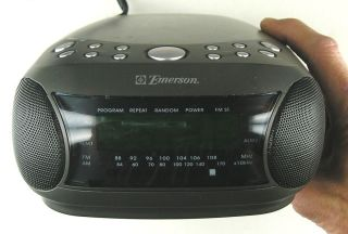 Emerson CKD9901 Dual Alarm Stereo CD Clock Radio