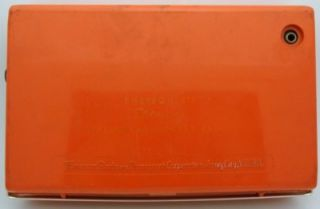 Emerson 911 Eldorado Transistor 9 Radio