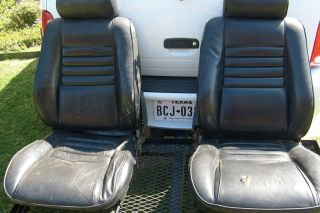Chevy El Camino Monte Carlo Bucket Seats Chevrolet GM Seat Rat Rod