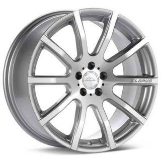 17 Elbrus 105 Wheels Rims Silver 5x4 5 5 lug Acura Honda Nissan Toyota