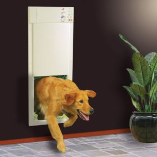 Power Electronic Pet Dog Automatic Large Door w Collar