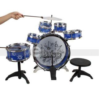 11 pcs kids children drum set musical instrument toy