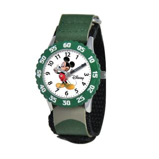 Disney Mickey Mouse Kids Time Teacher Watch with Rotating Bezel  C