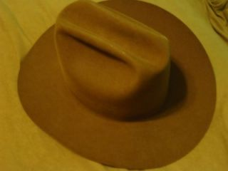 Resistol Stagecoach Western Collection Brown 3X Beaver Cowboy Hat 7 1