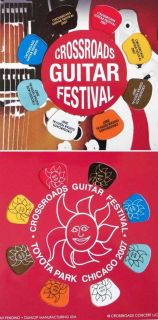 Eric Clapton 2007 Crossroads Guitar Festival Pick Pack