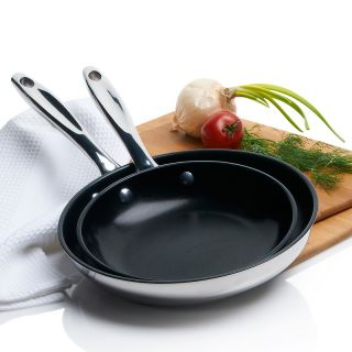 Wolfgang Puck Wolfgang Puck Bistro Elite 8 and 10 Omelet Pan Set