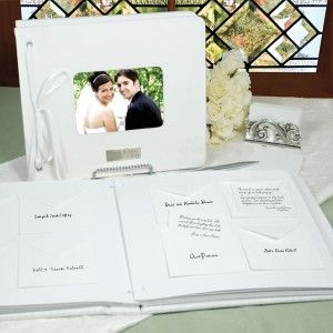 Wedding Wishes Envelopes Personalized Guest Book