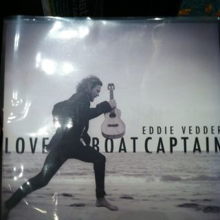 Eddie Vedder Love Boat Captain 45 Vinyl RPM 2012 New Only 1500 Pearl