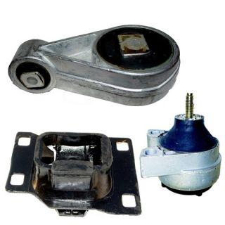 00 04 Ford Focus 2 0L SOHC Engine Transmission Motor Mount 2938 2939