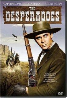 Title THE DESPERADOES Glenn Ford, Randolph Scott DVD New