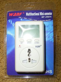 Save Electric Bill with Power Usage Monitor Meter New