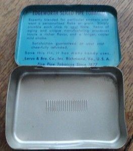 edgeworth pipe tobacco tin larus bro co