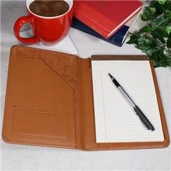 Personalized Medical Dr Tan Leather Business Portfolio