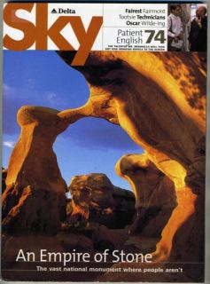 delta airlines magazine sky august 2000 escalante