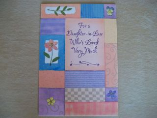 Birthday Card To Daughter In Law With Envelope By Expressions From