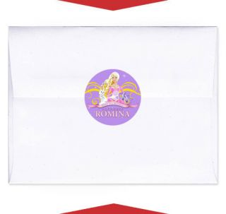 Perennial Personalized Birthday Party Favors Envelope Seal