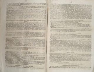 1844 Pamphlet WHIG TEXT BOOK Or Democracy Unmasked Washington DC