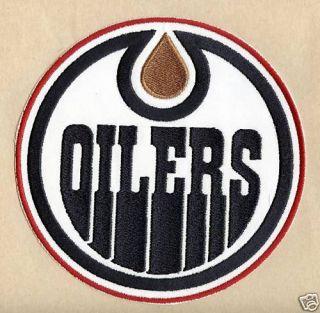 Edmonton Oilers NHL Hockey Sports New Jersey Patch