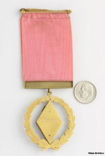 16th Degree Scottish Rite Medal   14k Gold Past Sovereign Prince of