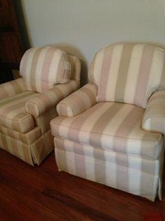 ... Ethan Allen Furniture Devonshire Swivel Glider Chair ...