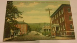 Vintage real photo postcard Elizabethville Pa.