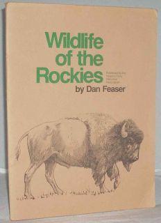Rockies 12 Charcoal Big Game Prints Elk Bison Bighorn Mule Deer