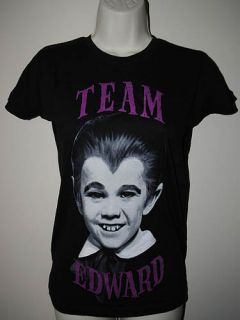 rock rebel team edward eddie munster girly t shirt s