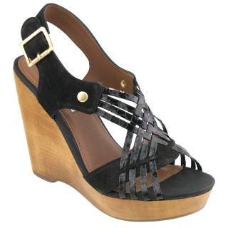 steve madden turnpyke wedge sandal brand steve madden material leather