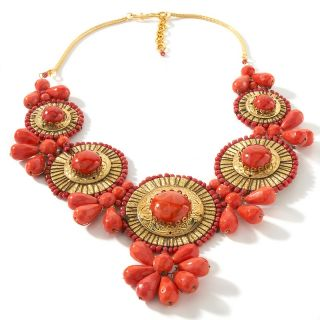 BAJALIA Indu Medallion Drop 20 Necklace