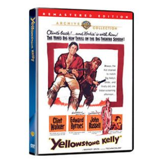 Yellowstone Kelly DVD Clint Walker Edward Byrnes
