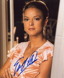 Eva LaRue Natalia on CSI Miami Sexy Color Autograph