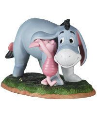 Pooh Friends Eeyore Piglet Figurine Share Secrets
