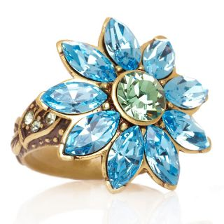 Heidi Daus Breathless Crystal Accented Daisy Ring