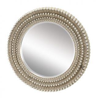 Home Décor Art & Wall Décor Mirrors 35 Dahlia Silver Leaf Mirror