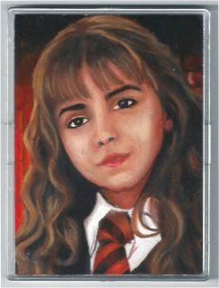 Harry Potter Hermione Emma Watson Original Sketch Card ACEO By