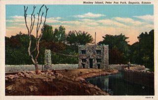 Island Peter Pan Park Emporia Kansas New Old Stock N Mint