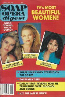 Eileen Davidson Patsy Pease Susan Lucci February 9 1988 Soap Opera